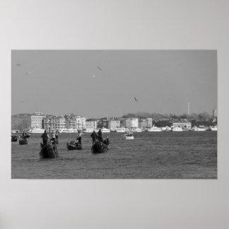Póster Gran Canal en Venecia