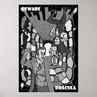 Póster Guárdese del poster de Drácula