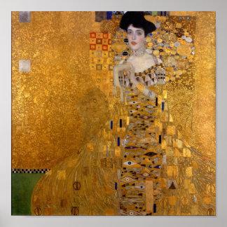 Póster Gustavo Klimt, Adela Bloch-Bauer (1907)