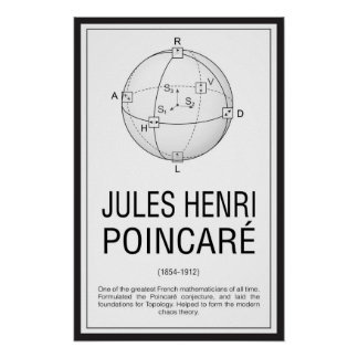 Póster Henri Poincaré