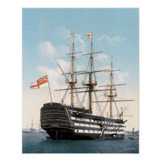 """Póster HMS Victory 16"""" x 20"""" poster"""