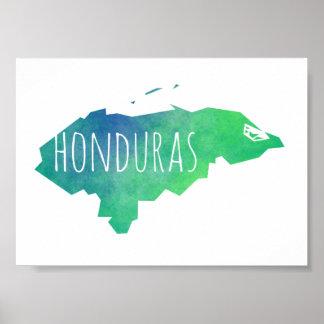 Póster Honduras