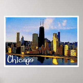 Póster Horizonte de Chicago