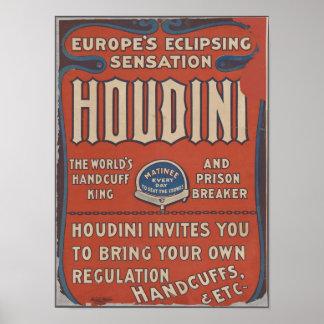 Póster Houdini emocionante