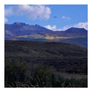 Póster Humboldt del este, Nevada
