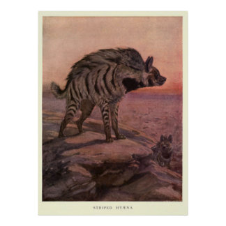 Póster Hyena Painting (1909) del vintage