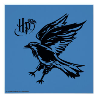 Póster Icono de Harry Potter el | Ravenclaw Eagle