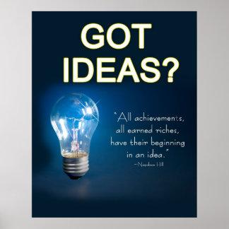 ¿Poster - IDEAS CONSEGUIDAS?