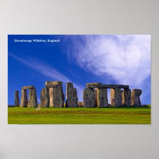 Póster Imagen de Stonehenge para el poster