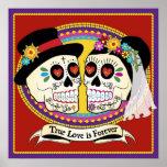 Poster (inglés)/impresión del Los Novios