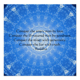 POSTER inspirado de la cita de Buda