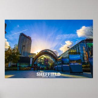 Póster Invernadero de Sheffield