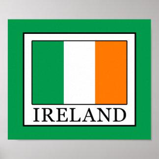 Póster Irlanda