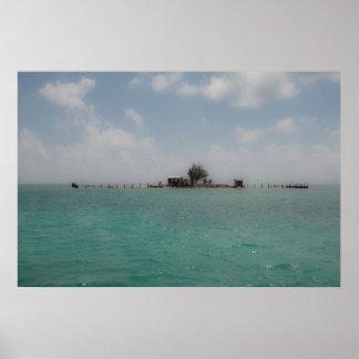Póster Isla desierta