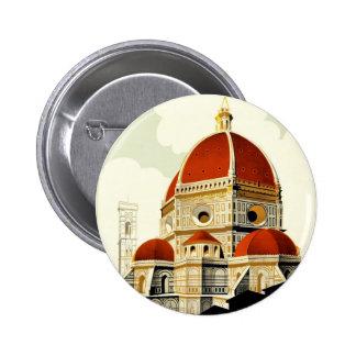 Poster italiano del turismo del vintage pins