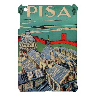 Poster italiano del viaje de Pisa de los años 20 d iPad Mini Protector