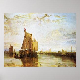 Póster J.M.W. Turner - el Dort 1818