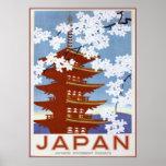 Póster Japón