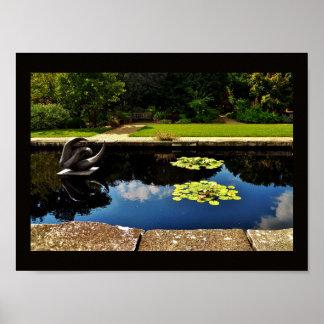 Póster Jardín de la escultura