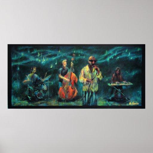 Póster Jazz music group