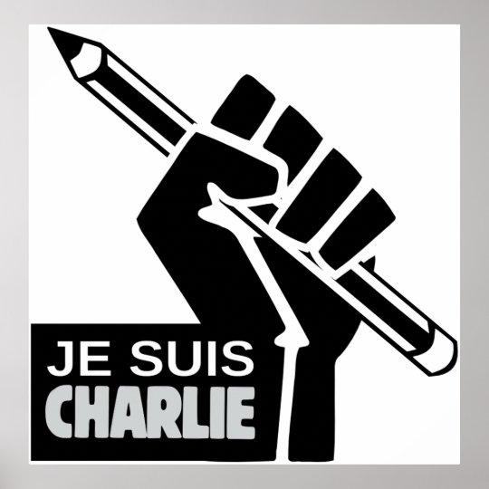 Póster Je suis Charlie