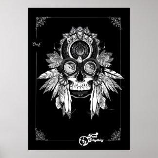 """Póster Jefe del ` poster de la tribu"""""""