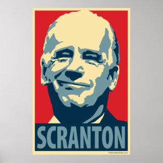 Póster Joe Biden - Scranton: Poster de OHP