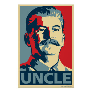 Póster Joe Stalin - tío: Poster de OHP
