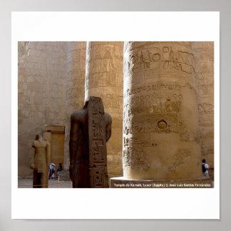 Póster Karnak Luxor Egipto 060