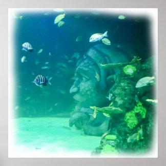 Póster La Atlántida debajo del mar