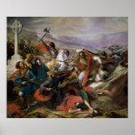 Póster La batalla de Poitiers, ganada por Charles Martel