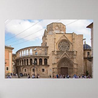 Póster La catedral de Valencia