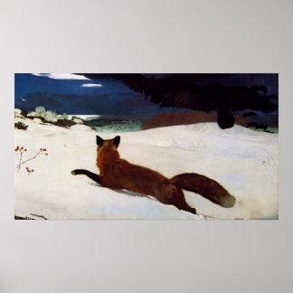 Póster La caza de Fox