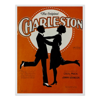 Póster La Charleston original
