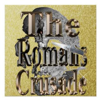 Póster La cruzada de los romanos,