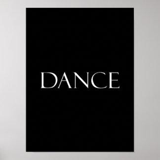 Póster La danza cita cita inspirada del baile
