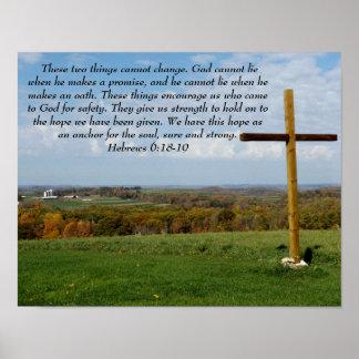 Póster La esperanza que ancla nuestra alma