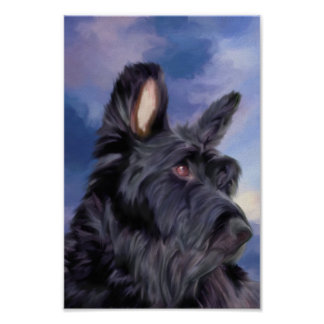Póster La expresión es todo perro escocés de Terrier
