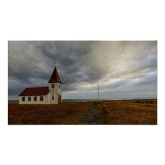 Póster La iglesia en Hellnar