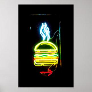 Póster La junta NYC de la hamburguesa