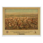 Póster La lucha pasada de Custer (2610A)