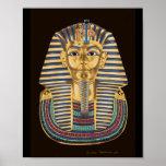 Póster La máscara de oro de Tutankhamon