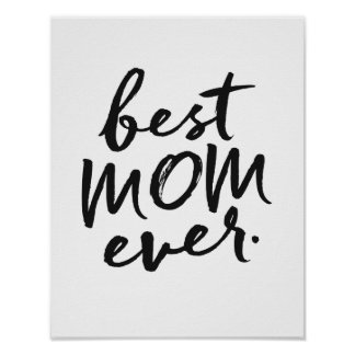 Póster La mejor mamá nunca
