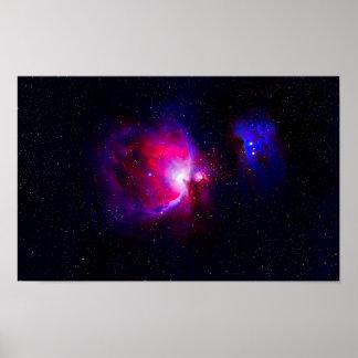 Póster La nebulosa de Orión