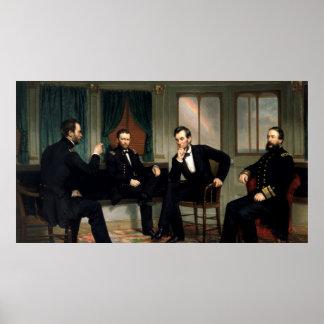 Póster La pintura de los pacificadores de 1868