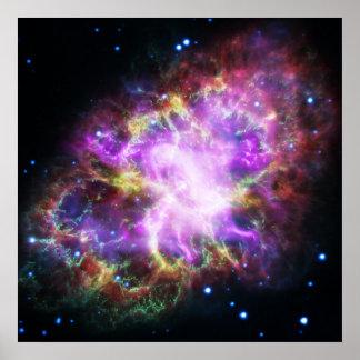 Póster La radiografía de Chandra en la nebulosa de