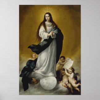 Póster La Virgen de la Inmaculada Concepción