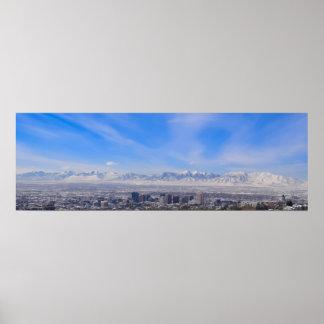 Póster La visión - poster de Salt Lake City, Utah