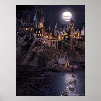 Póster Lago castle el | de Harry Potter gran a Hogwarts