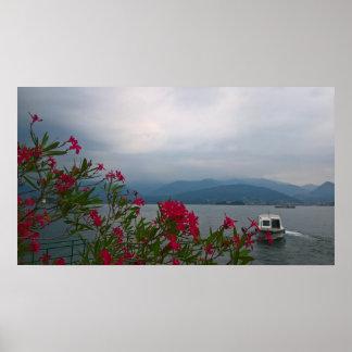 Póster Lago Maggiore Italia